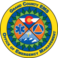 Grand County EMS and Office of Emergency Management logo