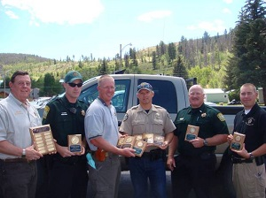 Law Enforcement Shoot Winners