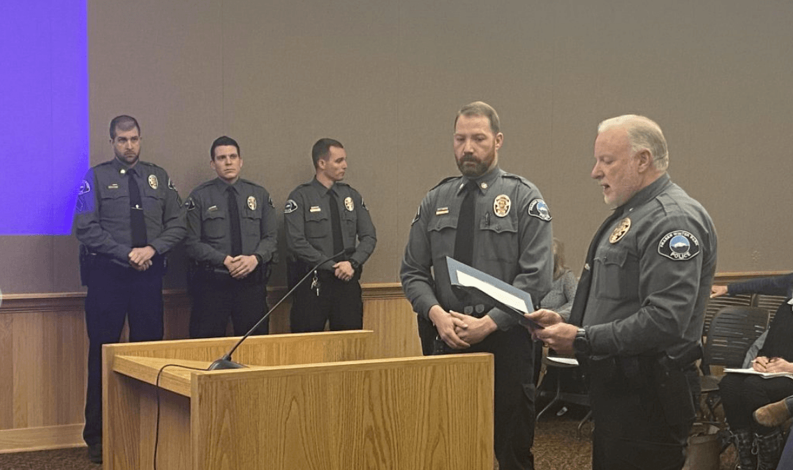 Winter Park Officers Honored