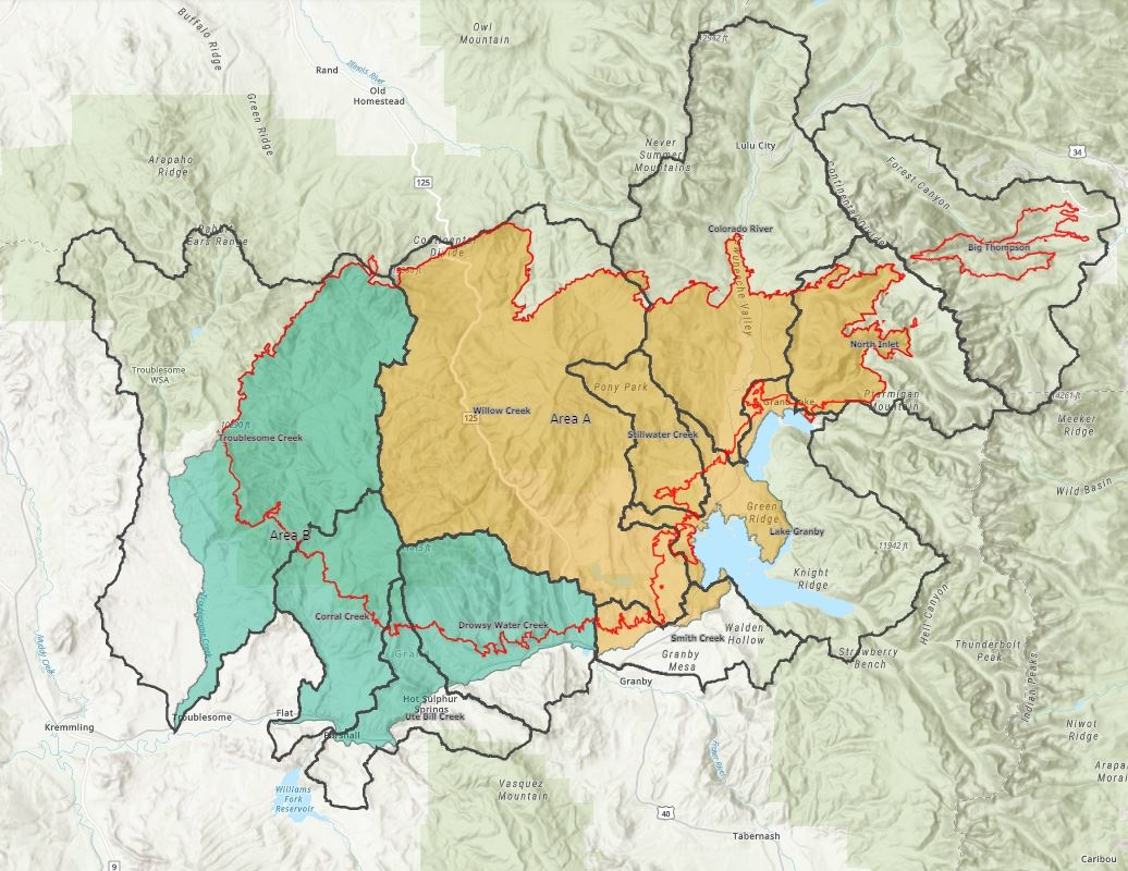 Watershed Fire Map
