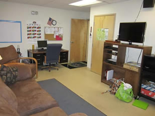 Small Office and Break Room